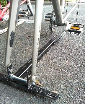 自転車の 自転車 車載 スタンド 自作 : 車載用サイクルキャリアを自作 ...