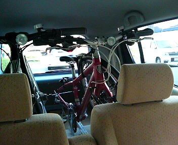 自転車の 自転車 キャリア 車載 自作 : 車載用サイクルキャリアを自作 ...